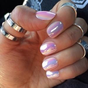 Metallic Foil Nails